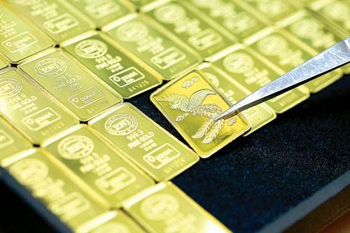 NHNN dập 10 tấn vàng bán ra thị trường ảnh 1