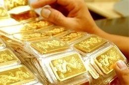 Cuối tuần, vàng dao động 43,5 triệu đồng ảnh 1