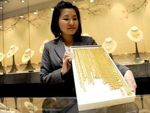 Giá vàng ít biến động trên thị trường châu Á ảnh 1