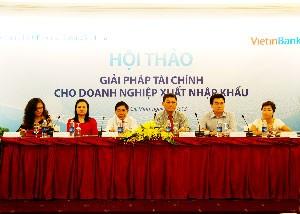 """Vietinbank tổ chức hội thảo """"Giải pháp tài chính DN XNK"""" ảnh 1"""