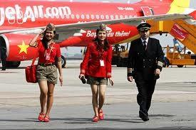 VietJetAir bay chuyến quốc tế đầu tiên ảnh 1