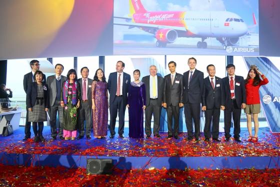 Vietjet nhận máy bay A320 đầu tiên của Airbus ảnh 3