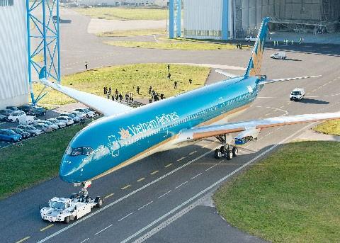 Vietnam Airlines sắp nhận máy bay A350 XWB ảnh 1