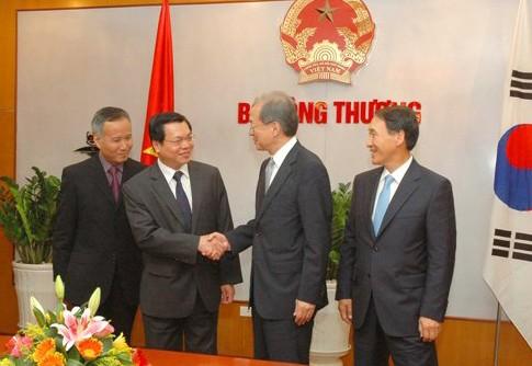Việt Nam-Hàn Quốc khởi động đàm phán FTA ảnh 1