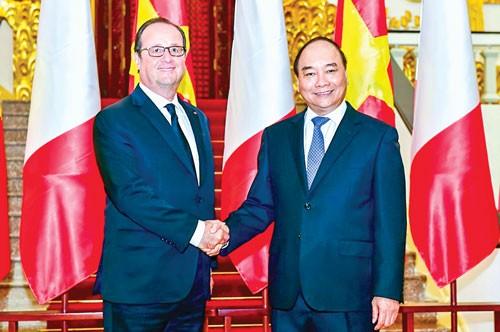 Tầm cao quan hệ Việt-Pháp ảnh 1