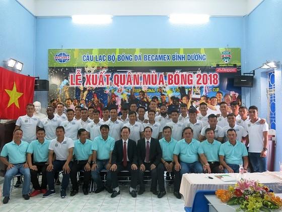 CLB Becamex Bình Dương xuất quân tham dự mùa bóng 2018 ảnh 3