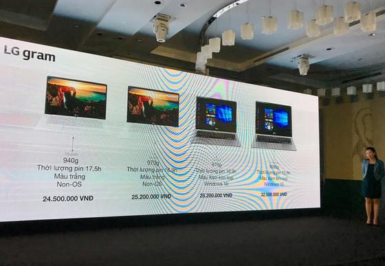 Laptop LG gram chính thức ban ở Việt Nam ảnh 3