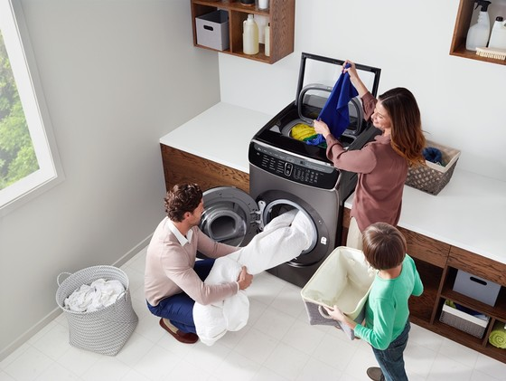 Máy giặt đột phá FlexWash có giá 59.800.000 đồng ảnh 1