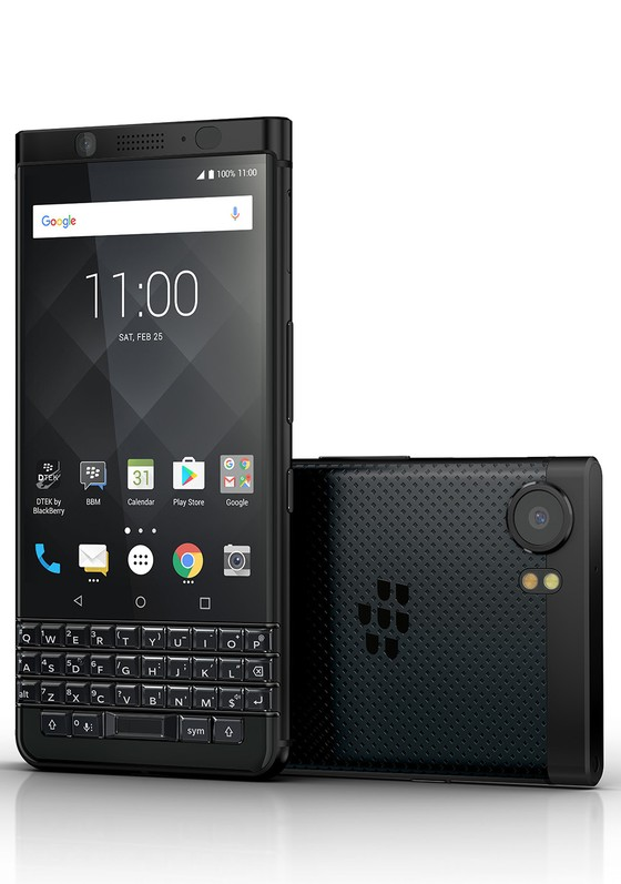 BlackBerry KEYone Black Edition được thiết kế đen hoàn toàn ảnh 1