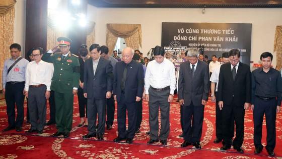 Lễ viếng nguyên Thủ tướng Phan Văn Khải  ảnh 62
