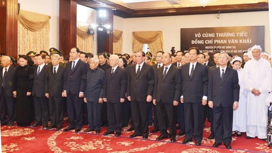 Lễ viếng nguyên Thủ tướng Phan Văn Khải  ảnh 38