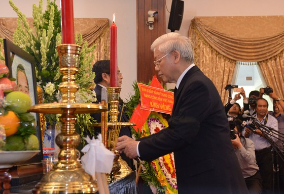 Lễ viếng nguyên Thủ tướng Phan Văn Khải  ảnh 34