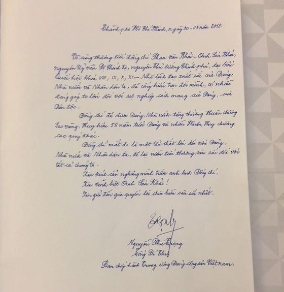 Lễ viếng nguyên Thủ tướng Phan Văn Khải  ảnh 6