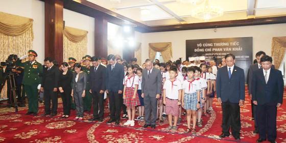 Lễ viếng nguyên Thủ tướng Phan Văn Khải  ảnh 57