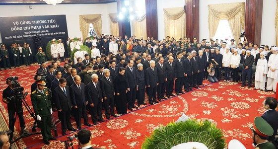 Lễ viếng nguyên Thủ tướng Phan Văn Khải  ảnh 32