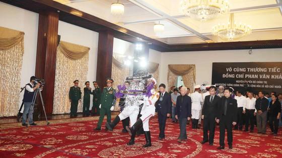 Lễ viếng nguyên Thủ tướng Phan Văn Khải  ảnh 58