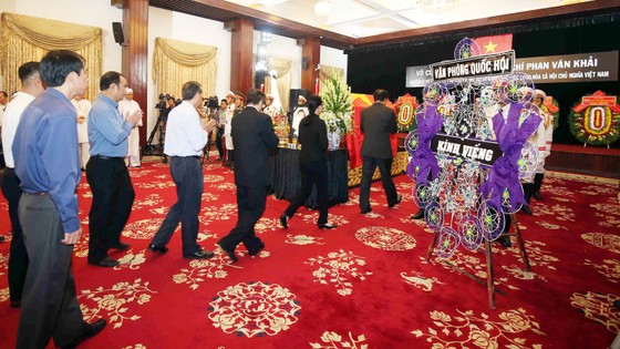 Lễ viếng nguyên Thủ tướng Phan Văn Khải  ảnh 52