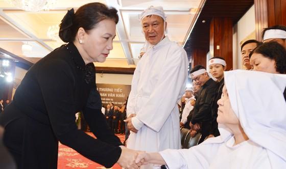 Lễ viếng nguyên Thủ tướng Phan Văn Khải  ảnh 20