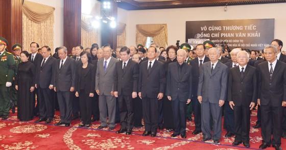 Lễ viếng nguyên Thủ tướng Phan Văn Khải  ảnh 29