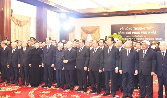 Lễ viếng nguyên Thủ tướng Phan Văn Khải  ảnh 4