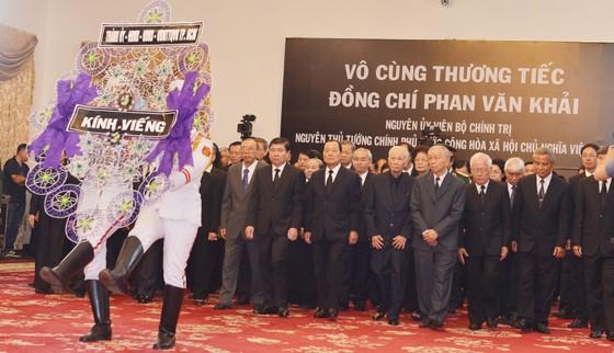 Lễ viếng nguyên Thủ tướng Phan Văn Khải  ảnh 28