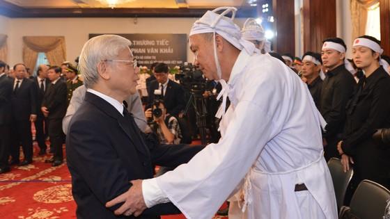 Lễ viếng nguyên Thủ tướng Phan Văn Khải  ảnh 5