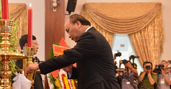 Lễ viếng nguyên Thủ tướng Phan Văn Khải  ảnh 12
