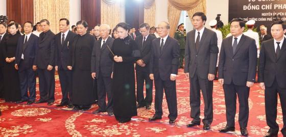 Lễ viếng nguyên Thủ tướng Phan Văn Khải  ảnh 16