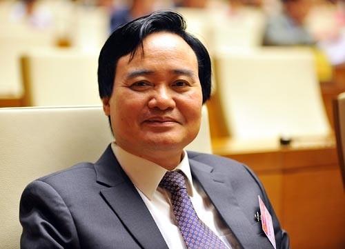 bo truong phung xuan nha giao duc khong phai tran danh 123 174645 cska Bộ trưởng Bộ GD ĐT nói gì về đề án đào tạo 9.000 tiến sĩ với 12.000 tỷ đồng?
