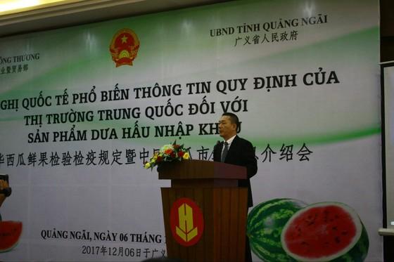 Phổ biến quy định của thị trường Trung Quốc đối với dưa hấu ảnh 2