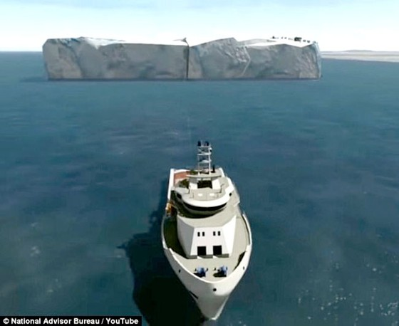 UAE lấy nước ngọt từ băng Nam Cực  ảnh 1