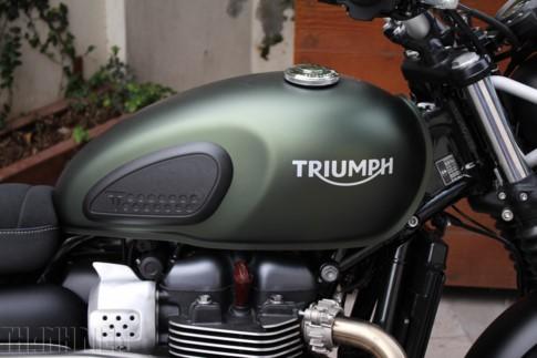 'Xế nổ' Triumph Street Scrambler 2017 đầu tiên về Việt Nam - ảnh 3