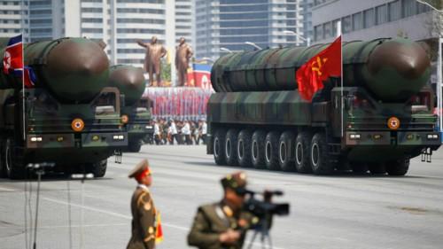 Tên lửa đạn đạo Triều Tiên rơi gần căn cứ Nga? - ảnh 1