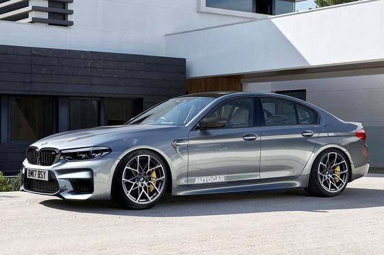 Hình ảnh về mẫu BMW M5 đã được nhượng quyền thương mại và quảng cáo cho trò chơi điện tử Need For Speed. Mẫu siêu sedan của BMW có khả năng cho công suất lên tới 615 mã lực.