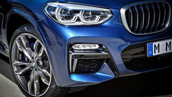 Chi tiet SUV hang sang co nho BMW X3 2018 vua ra mat hinh anh 5