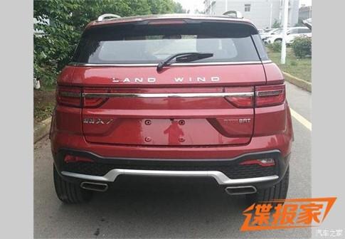Xe nhái Range Rover Evoque, Landwind X7 tiếp tục nâng cấp - ảnh 1