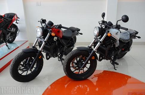 Honda Rebel 300 ABS 2017 bán tại Việt Nam, giá từ 170 triệu đồng - ảnh 1