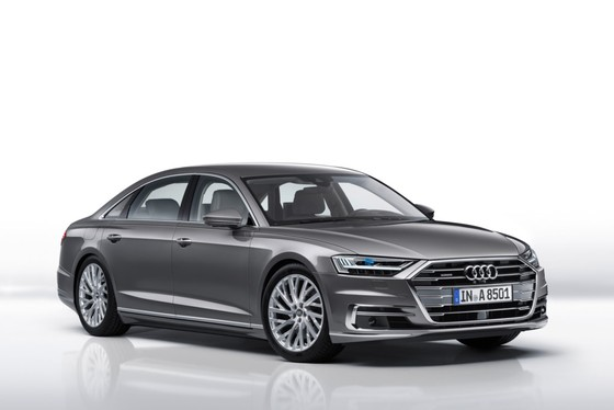 Audi A8 2018 - buoc dot pha ve cong nghe hinh anh 1