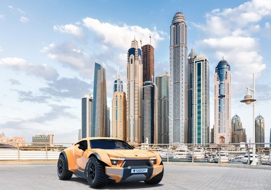 Zarooq Sand Racer 500GT - sieu SUV gia 450.000 USD vua ra mat hinh anh 1