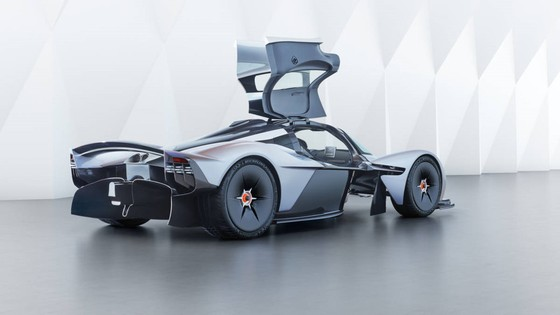 Sieu xe trieu do Aston Martin Valkyrie hoan thien 95% thiet ke hinh anh 8
