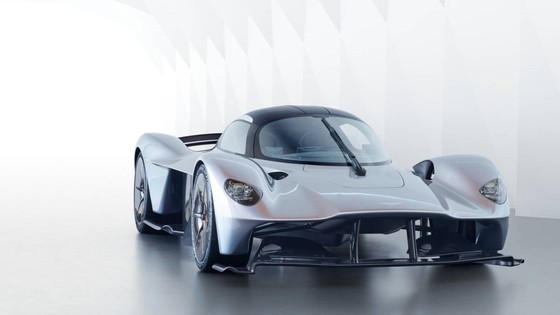 Sieu xe trieu do Aston Martin Valkyrie hoan thien 95% thiet ke hinh anh 1
