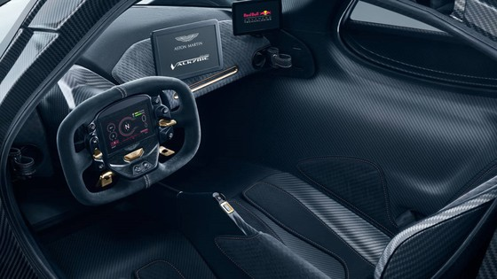 Sieu xe trieu do Aston Martin Valkyrie hoan thien 95% thiet ke hinh anh 6
