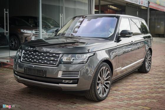 SUV hang sang Range Rover Hybrid gia hon chuc ty dau tien tai VN hinh anh 1