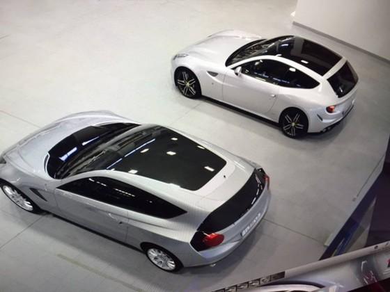 Lo hinh anh Ferrari F16X bon cua giong SUV hinh anh 3