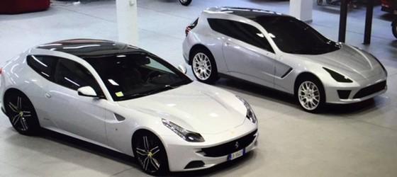 Lo hinh anh Ferrari F16X bon cua giong SUV hinh anh 1