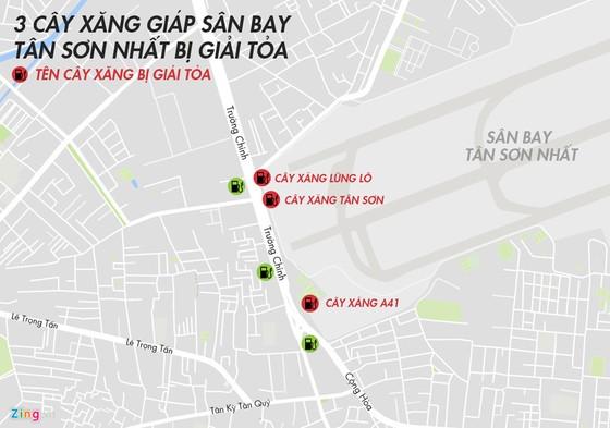 Can canh hang chuc kiot, cay xang giap san bay Tan Son Nhat hinh anh 17