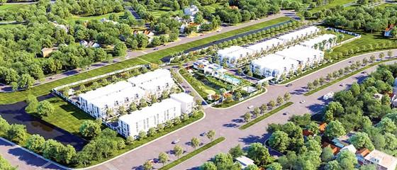 Nhà phố 2 sân vườn Rosita Garden ảnh 1