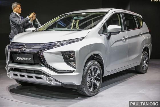 Mitsubishi ra mat xe gia dinh 7 cho Xpander hinh anh 1