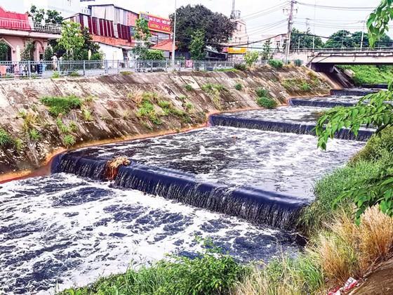 Hứng trọn ô nhiễm từ kênh Ba Bò  ảnh 2