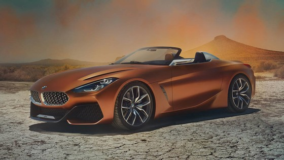 BMW Concept Z4 Roadster chinh thuc xuat hien hinh anh 1